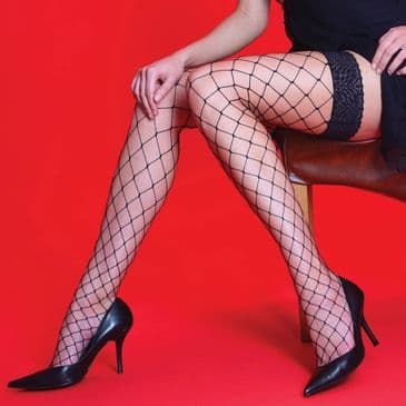 Silky Scarlet Whale Net Hold-Ups